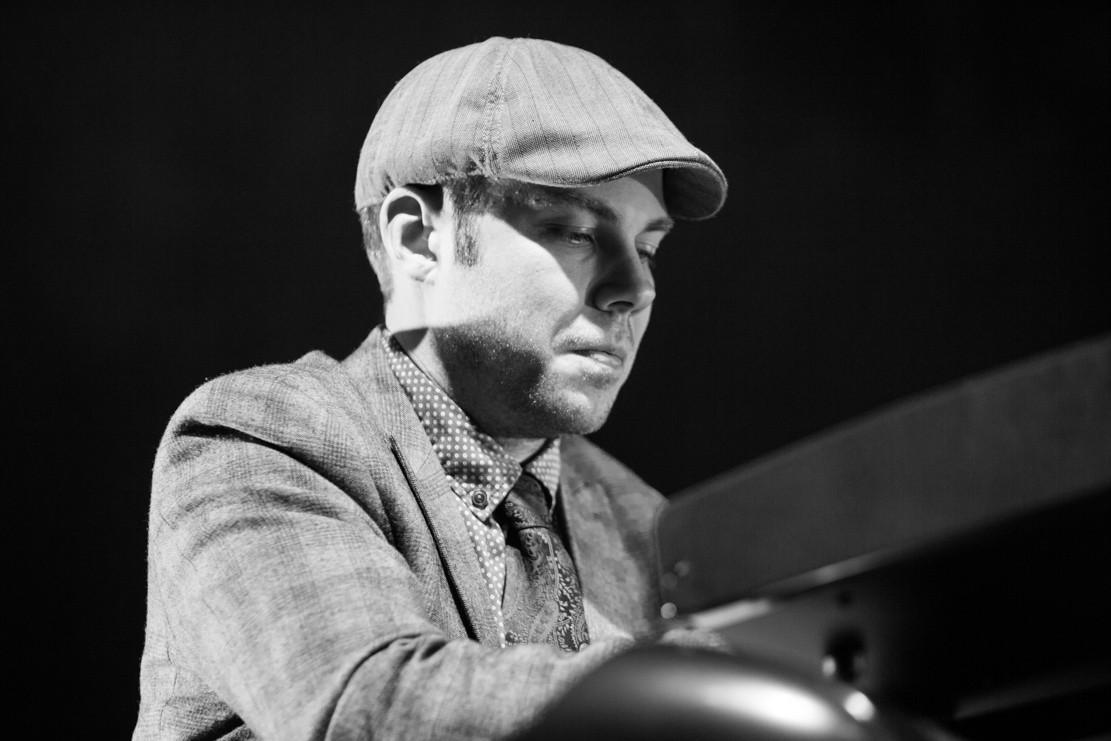 Andrzej on piano