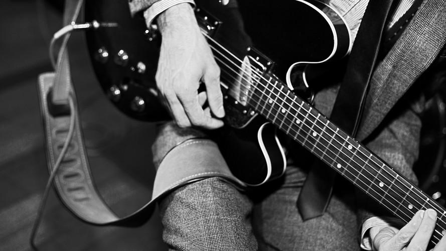 Paul on guitar