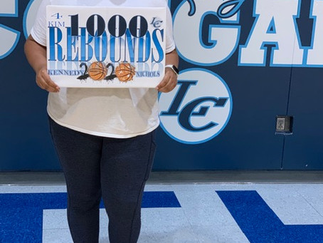 LOCAL SENIOR HITS 1,000 REBOUNDS