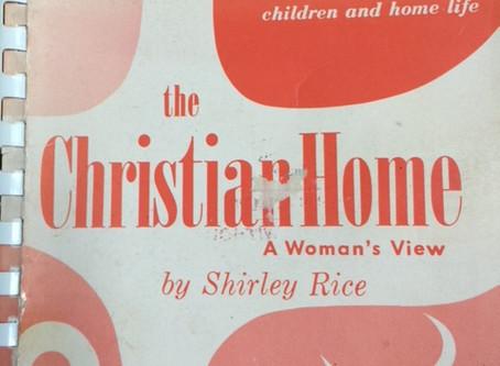 CAN I REALLY CREATE A CHRISTIAN HOME?