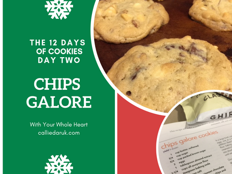 THE TWELVE DAYS OF COOKIES