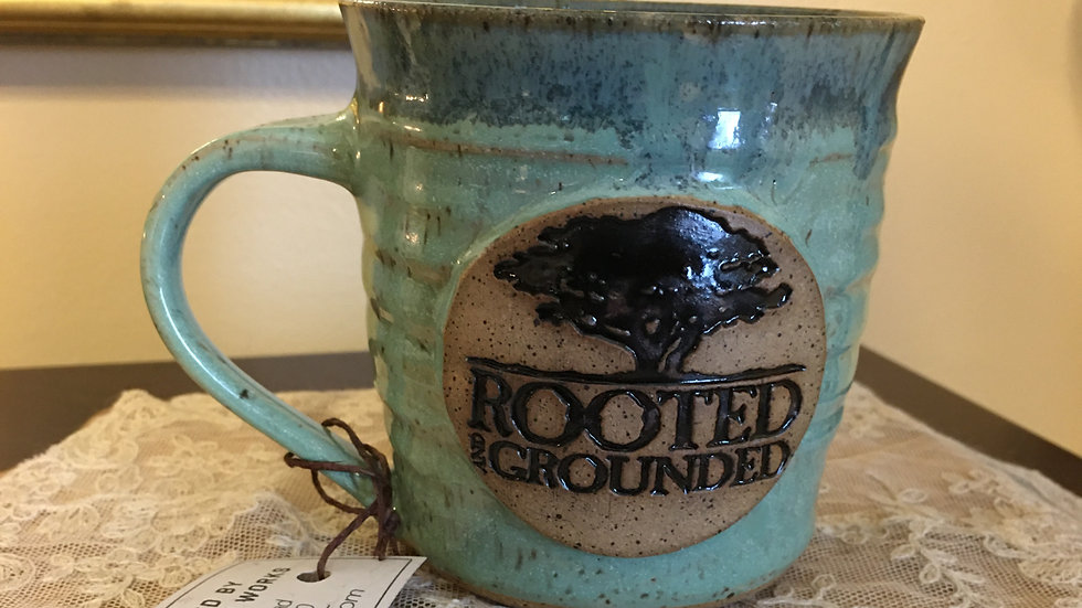 Mint Pottery Mug