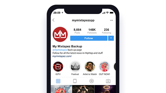 Instagram Feed Post (Backup Page)