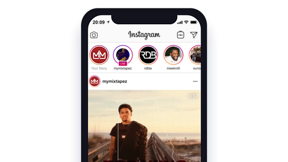 Instagram Story Post (Verified Page)
