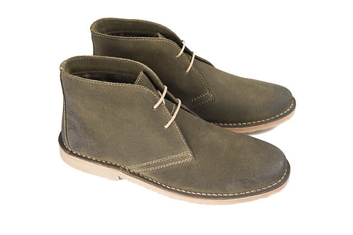 Ikon Desert Boot in Olive