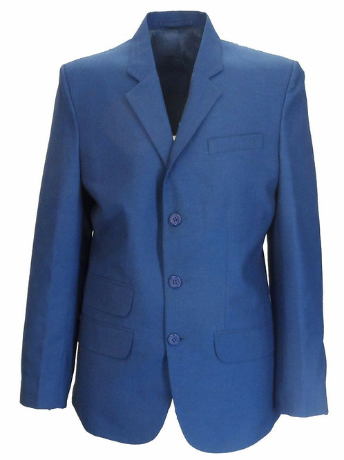Two Tone Tonic Suit in Blue