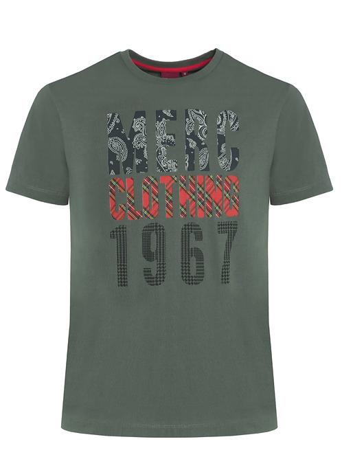 Merc London Tee Shirt Combat Green