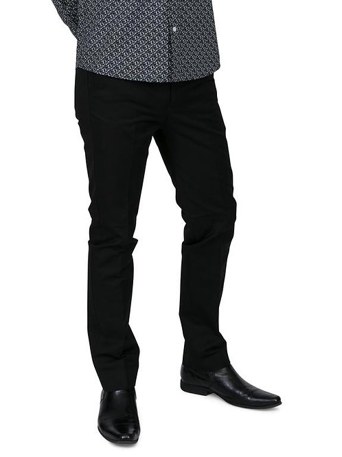 Relco Stay Press Trousers in Black