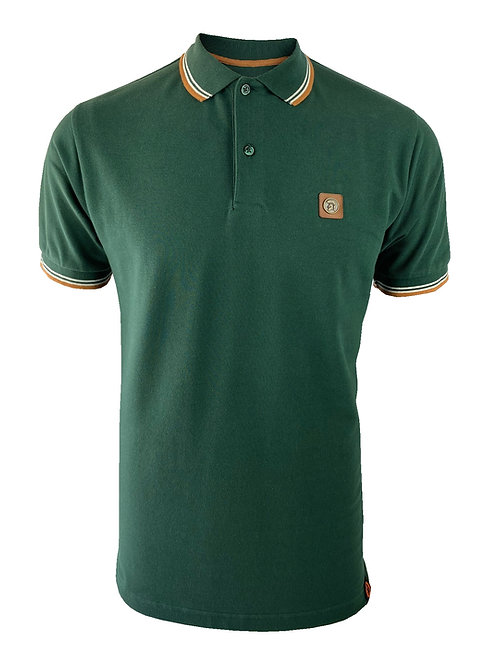 Trojan Badged Pique Polo TC/1007 Forest