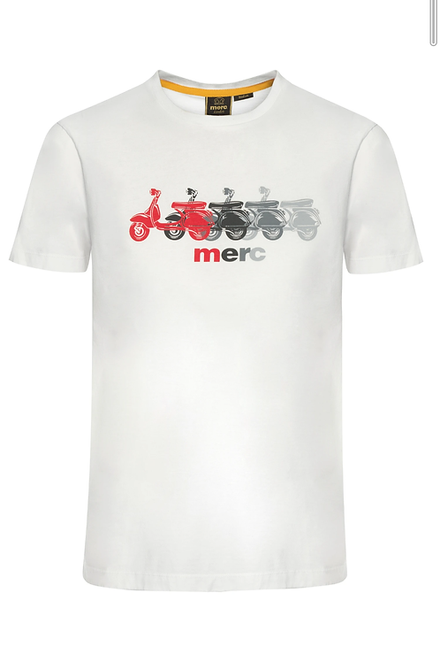 Merc London Tee Shirt Off White