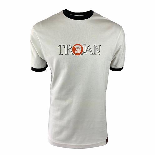 Trojan Outline Logo tee TR/8623 Ecru