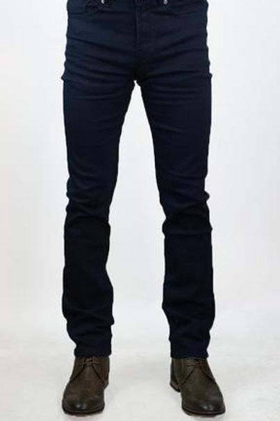 Cavani Stretch Navy Twill Jeans