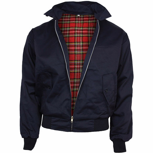 Relco Harrington Jacket in Navy