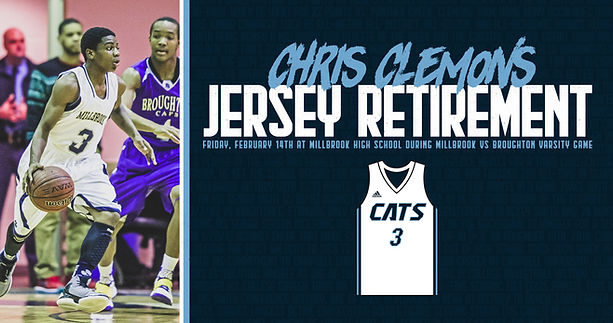 Chris Clemons Jersey Night Announcement.