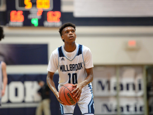 Late free throws lift Millbrook past Wakefield