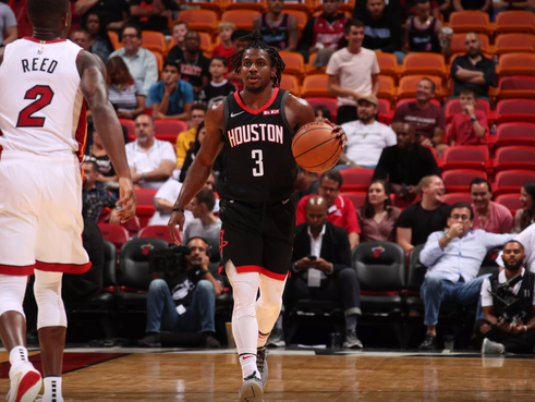 Chris Clemons makes NBA debut for Houston Rockets