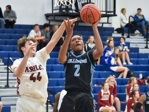 McCoy, Millbrook dominate Ashley, 89-42