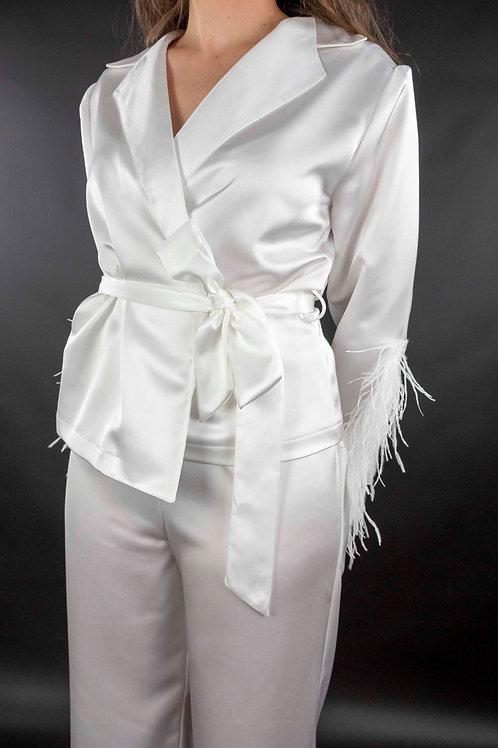 Pantalón Blanco Traje