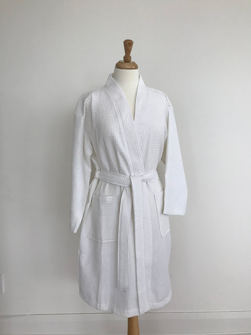 Spa Waffle Robe by St. Pierre