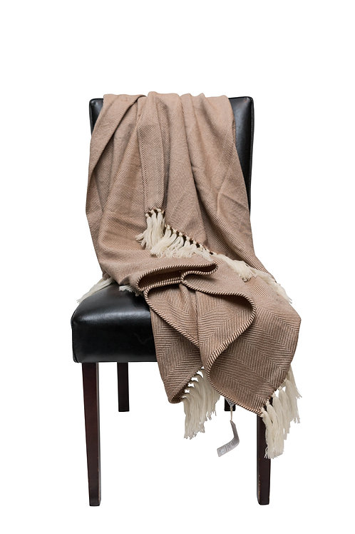 Graan Merion Mohair Throw by St. Pierre
