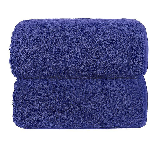Ultramarine Long Double Loop Towels by Grazzioza