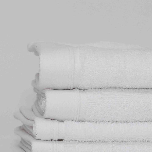 Classic White Cotton Towels by St. Pierre