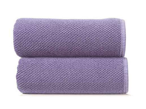 Lavender Bee Waffle Towels by Grazzioza