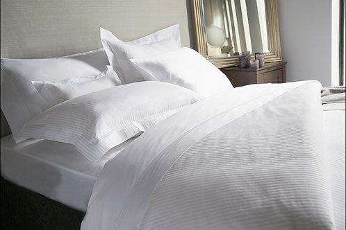 Savoy Stripe White by Revelle Home Fashion