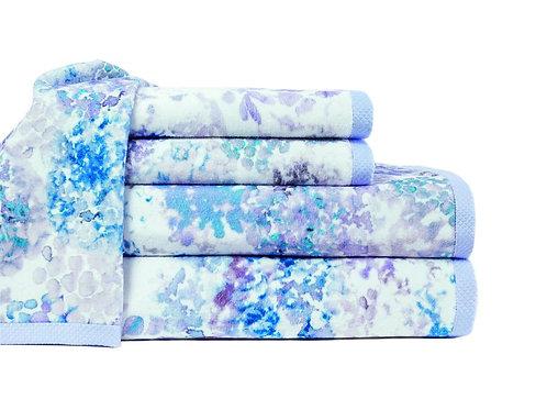 Georgia Blue Towels by St. Pierre