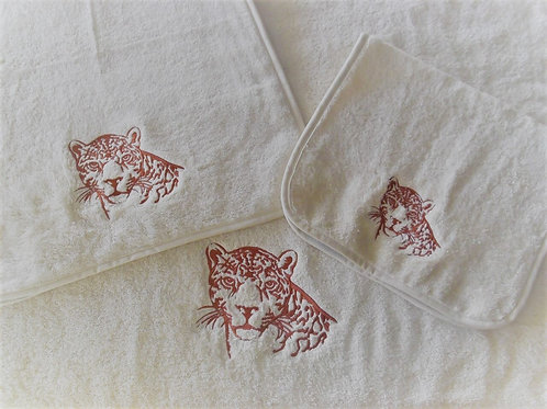 Leopard Towels by St. Pierre Home Fashions