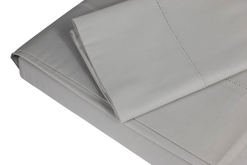 350 TC Silver Grey Sheet Sets by St. Pierre