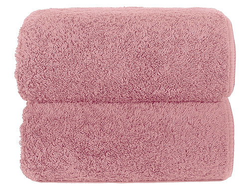 Blush Long Double Loop Towels by Grazzioza