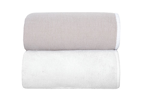 Stone Double Tone Towels by Grazzioza