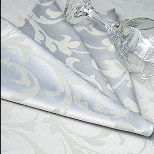 Scroll Platinum Tablecloths by Revelle Home Fashions