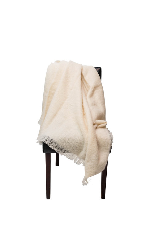 Swan Mohair Throw by St. Pierre