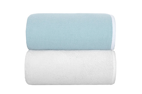 Baltic Double Tone Towels by Grazzioza