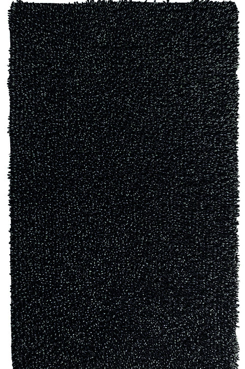 Charcoal Twisted Rug by Graccioza
