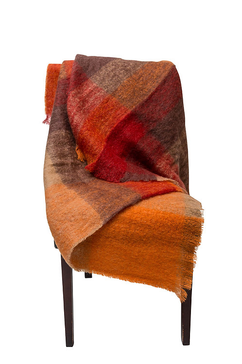 Sunset Mohair Throw by St. Pierre