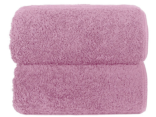 Deep Lilac Long Double Loop Towels by Grazzioza