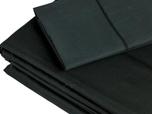 350 TC Black Sheet Sets by St. Pierre