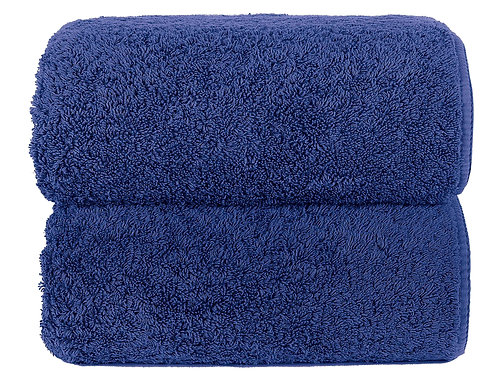 Sapphire Long Double Loop Towels by Grazzioza