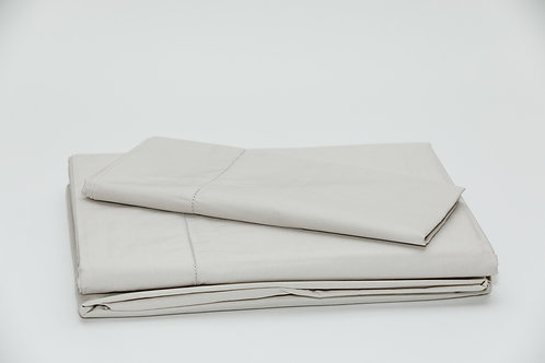 250 TC Percale Stone Sheet Sets by St. Pierre