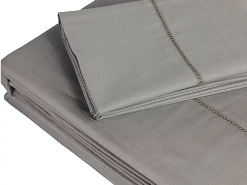 350 TC Grey Sheet Sets by St. Pierre
