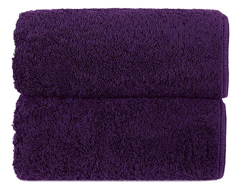 Orchid Long Double Loop Towels by Grazzioza