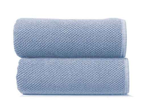 Baby Blue Bee Waffle Towels by Grazzioza