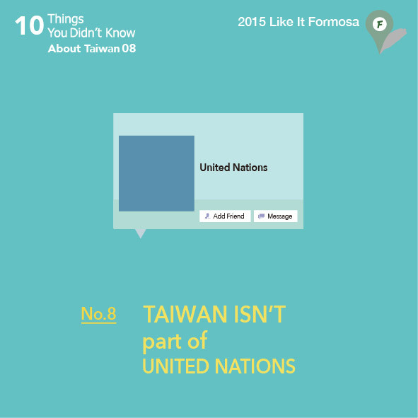 08 Taiwan isn't part of United Nations.