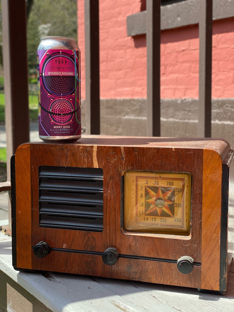 Thirsty Thursday: Staring at the Radio, Staying Up All Night on Strangebird's Stereo Sound