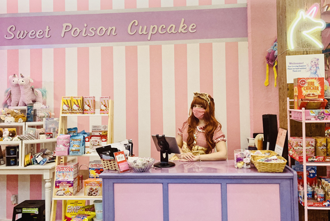 The World of Harajuku Fashion: Sweet Poison Cupcake