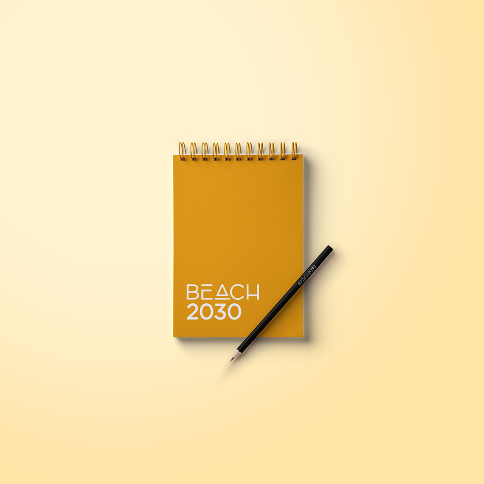 BEACH2030 Notepad