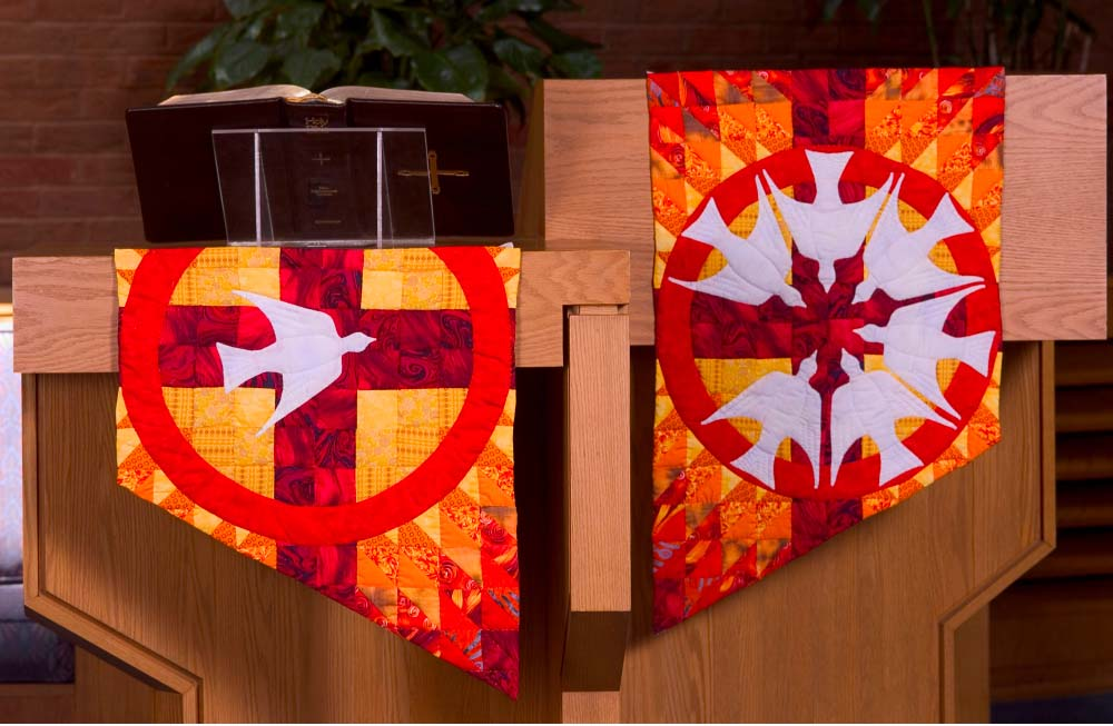 Pentecost Quilts, North Hills CRC